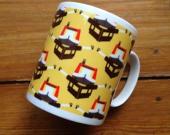 Canal Caper fine bone china mug