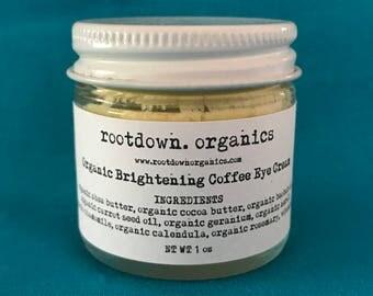 Organic Brightening Eye Cream - 1 oz