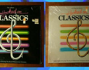 SEALED Hooked On Classics LP's 1 & 2