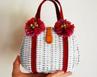 minaudiere braided acrylic yarn