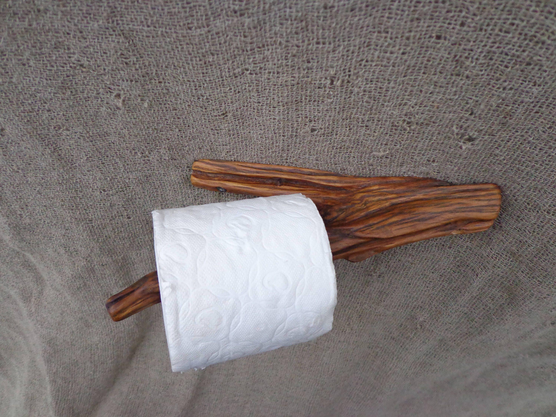 porte papier toilette branche porte papier wc en bois. Black Bedroom Furniture Sets. Home Design Ideas