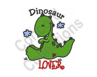 Dinosaur - Machine Embroidery Design, Dinosaur Lover