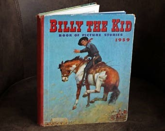 BILLY THE KID Book of Picture Stories 1959