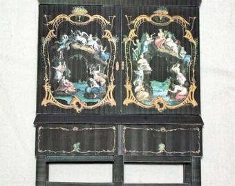 puppenhaus etsy. Black Bedroom Furniture Sets. Home Design Ideas