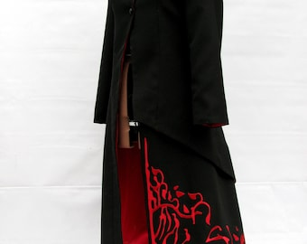 Adam Taurus cosplay, female version.