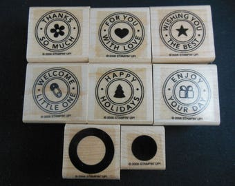 Riveting Retired Stampin' Up set of 8
