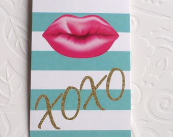 100 CLOTHING TAGS JEWELRY Tags Accessories Tags Boutique Tags Cute Xoxo & Pink Lips Rebe's Creations Retail Tags W 100 Self-Locking Loops