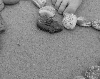Heart Pebble Photograph