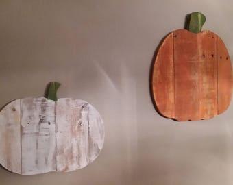 Rustic Hanging Pumpkin, Pallet Wood Pumpkin, Wooden Pumpkin, Halloween Decor, Pallet Wood Decor, Hanging Pumpkin, Fall Decor