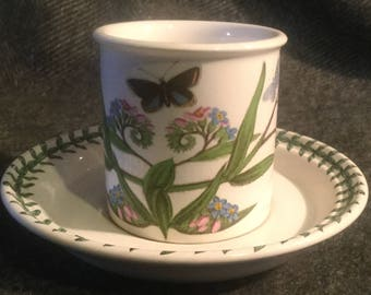 Portmeirion Botanic Garden Coffee Cup and Saucer - Forget Me Not