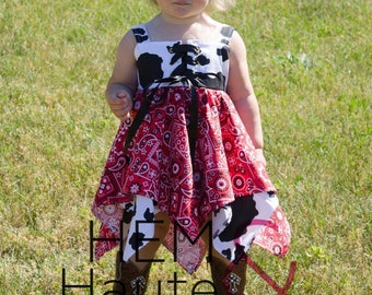 Cowgirl handkerchief dress