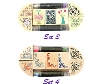 Creative Stamp, Stationery, Card Making, Retro, Woody Stamp
