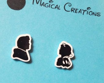 Disney Snow White and Prince Charming Earrings