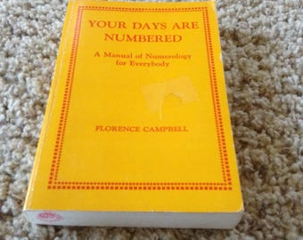 Your Days are Numbered. 1978 Edition