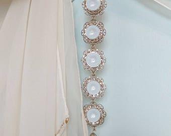 Bridal Jewelry, Brides Bracelet, Wedding Jewelry, Bridal sets, bridesmaids gifts, cuff bracelet, Rhinestone jewelry, Crystal cuff