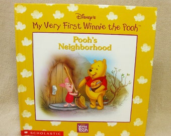 Disney My Very First Winnie the Pooh Book, Pooh's Neighborhood, Gift for Baby Girl/ Boy