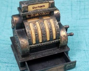 Durham Cast Metal Miniature Cash Register,  Doll House Cash Register