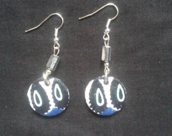 Ethno-moderne style earrings new collection of fabric