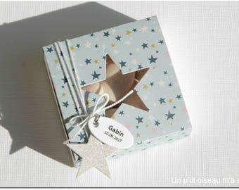 Box for sweets Star theme