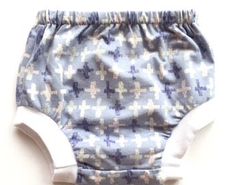 Baby Bloomers Nappy Covers Diaper Cover Baby Boy Bloomers Baby Girl Bloomers Baby Shorts Newborn 0-3, 6-12 monthsToddler Pastel Crosses