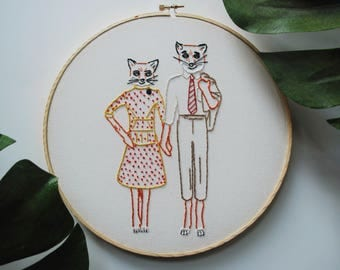 Fantastic Mr. Fox Embroidery