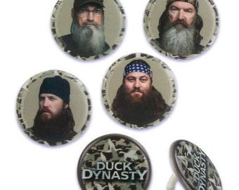 Duck Dynasty Cupcake Rings Birthday Wedding Set of 12 Cup Cake