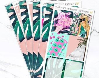 California Dreamin   Mini Planner Kit (120+ Stickers)