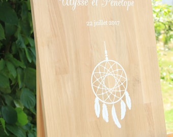 Welcome sign dream catcher - dreamcatcher - Bohemian theme - wedding - chic
