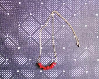 Chain fine/goldfilled/Crystal/collar/necklace/jewelry/stones semi precious / Zelina jewelry