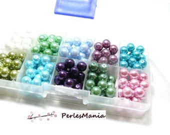 Essentials: Box of 230 PX4801 8mm Pearl glass beads