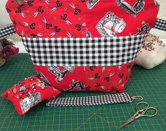 For the Love of Sewing Project Bag