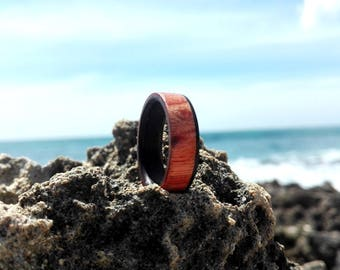 Wood Ring, Wooden Ring, Custom Wooden Ring, wedding ring,engagement ring,Personalized Wood Ring Men Wood Ring Men Ring Mens Jewelry
