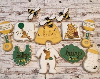 Clasic Pooh Sugar Cookies