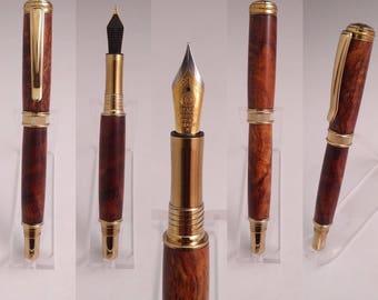 The Koa Wood Fountain Pen