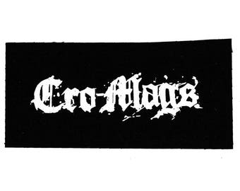 Cro Mags Band Patch