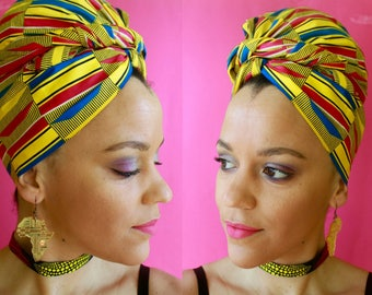 African Headwrap | Headscarves | Headwraps for Women | African Head Wraps for Women