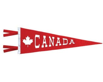 Canada Maple Leaf Pennant