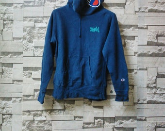 Vintage champion sweatshirt xgirl hoodie big logo C champion products adidas nike polo ralph lauren supreme bathing ape sportswear hipster