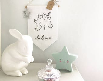 Unicorn Wall Hanging