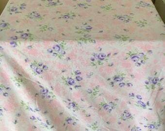 Double Vintage cotton flat sheet