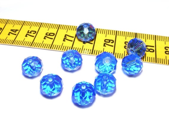 Abacus faceted Sapphire 6 x 10mm