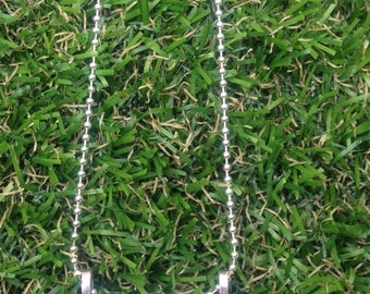 Long ball chain pendant