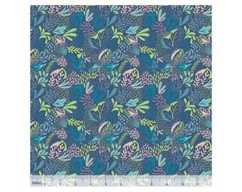 Coton imprimé Jungle petrole by Blend Fabrics .x1m