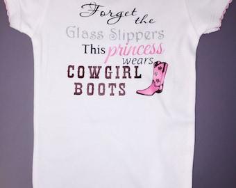 Cowgirl princess onesie