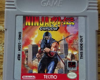 Ninja Gaiden Shadow Game Boy Color GBC Custom English