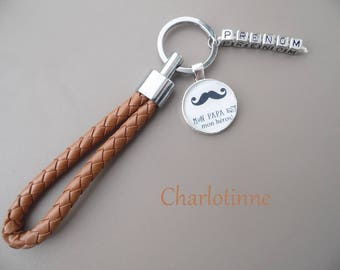 ¤ key to personalized with name or message for PAPA¤¤