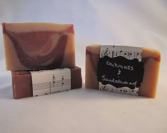 Oakmoss and Sandalwood Goat Milk Soap