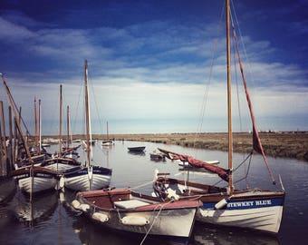 blakeney - boats
