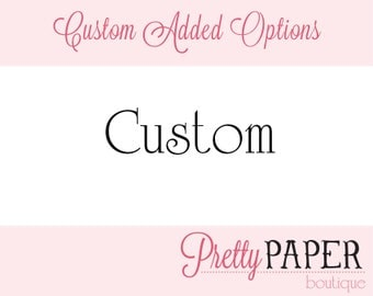 Custom Printed Envelope - A7 Size