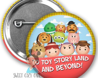 Toy Story Land Inspired Park Button